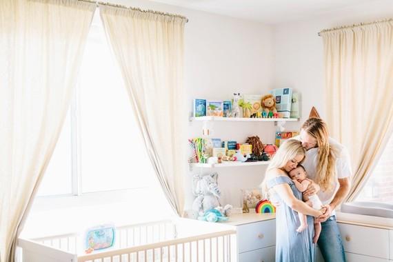 surf inspired nursery and newborn photos
