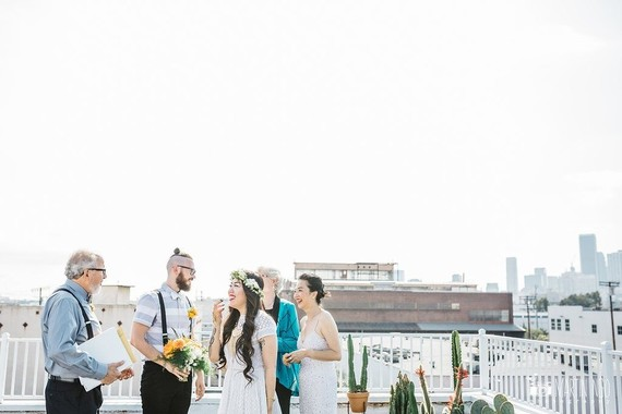 Downtown LA Elopement