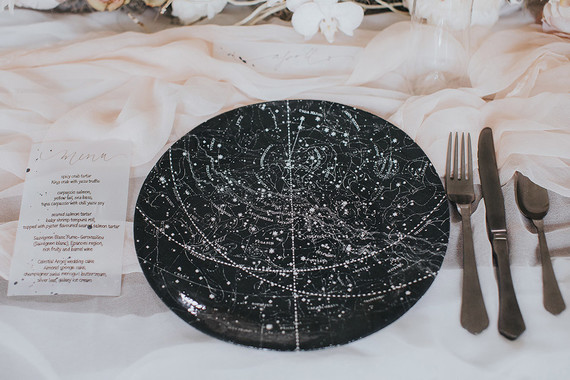 celestial wedding ideas