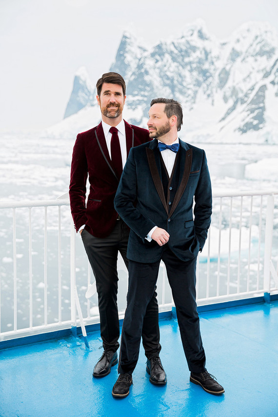 Antarctica wedding