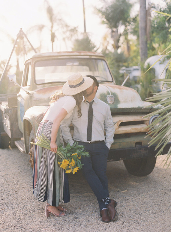 Engagement session at Caravan Outpost in Ojai + a giveaway