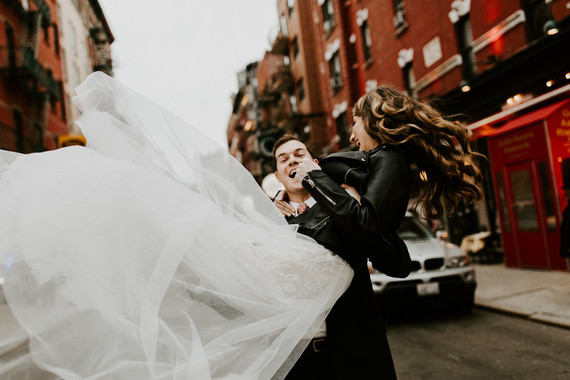 West Village NYC wedding at Palma