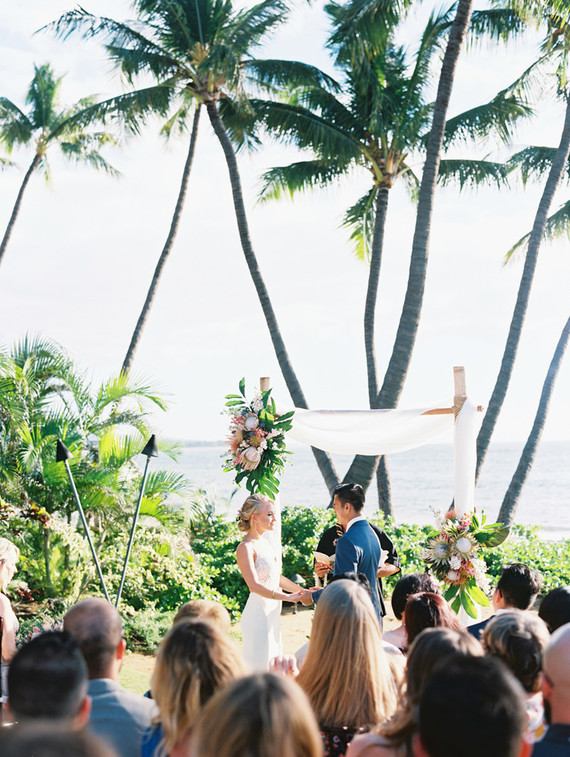 Maui wedding at Sugar Beach Estate