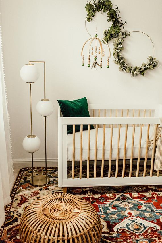 Boho Nursery Table Lamp