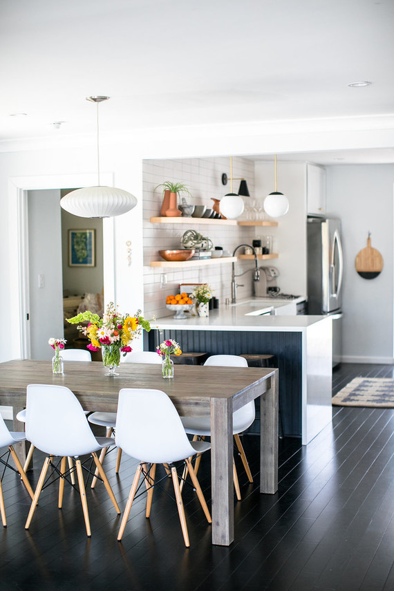 Modern kitchen makeover