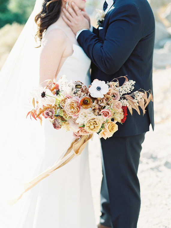 Earth tone, romantic Palm Springs wedding by Amorology at La Quinta Resort & Spa