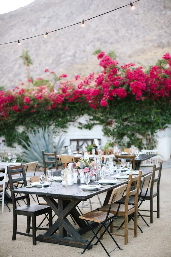 A ring designer's Palm Springs wedding at Korakia