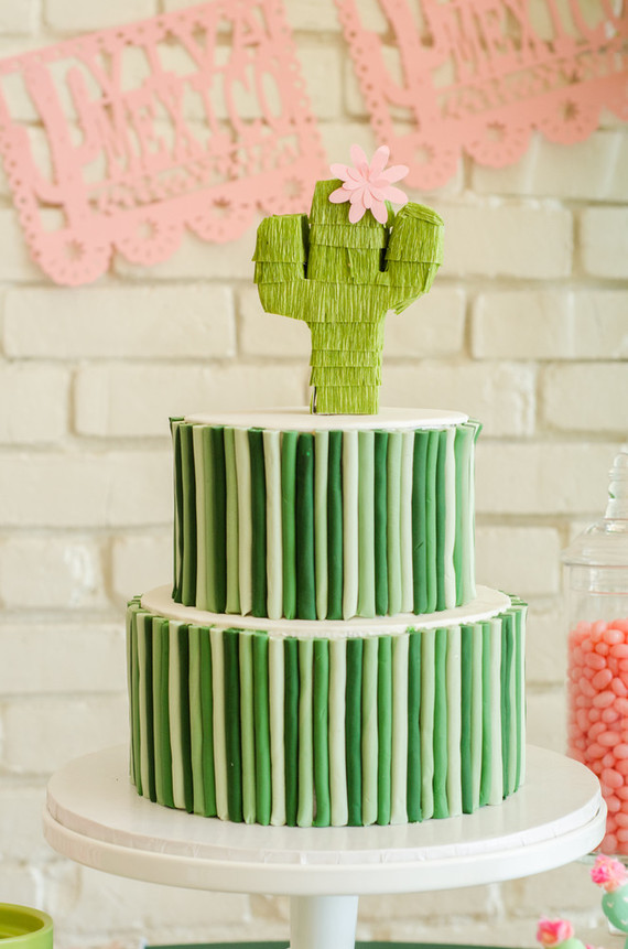 Cactus Themed Cinco De Mayo Party Cactus Themed Kids Party 100