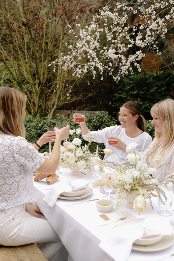 all white spring cinco de mayo party ideas