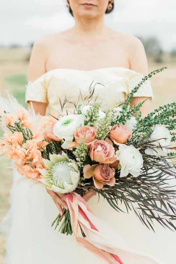 Earth-tone Sedona inspired fall wedding ideas in Texas