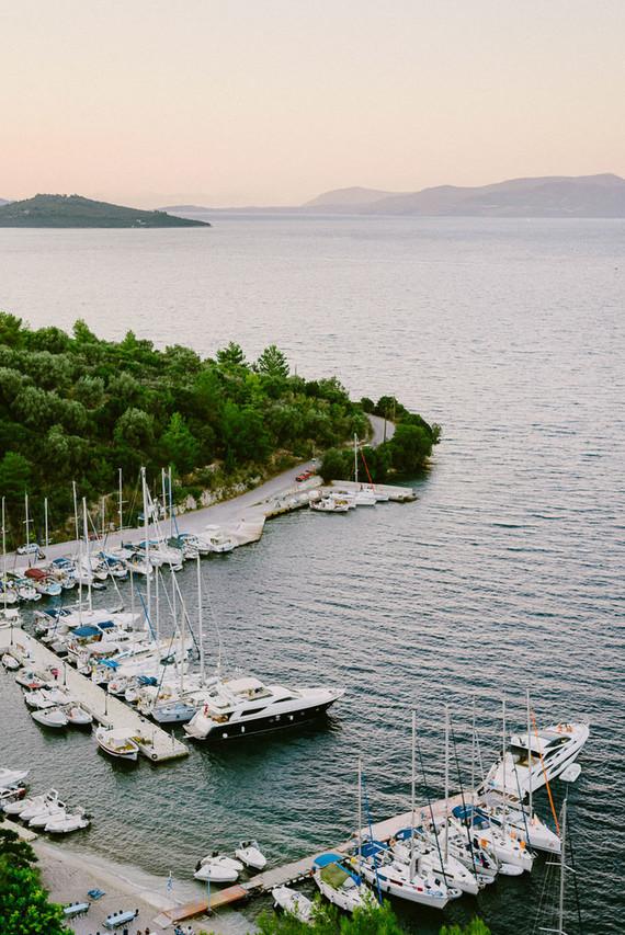 Mediterranean wedding in Meganisi, Greece