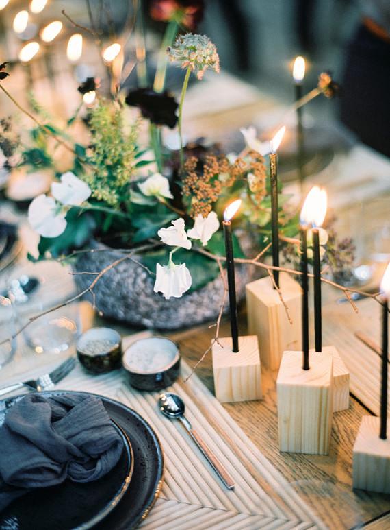 Minimal modern grey wedding ideas