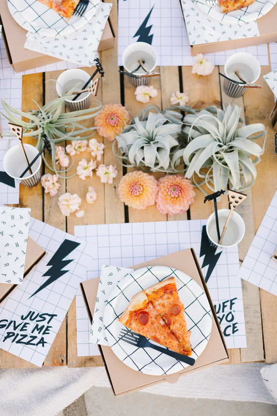 National Pizza Day party from Beijos Events