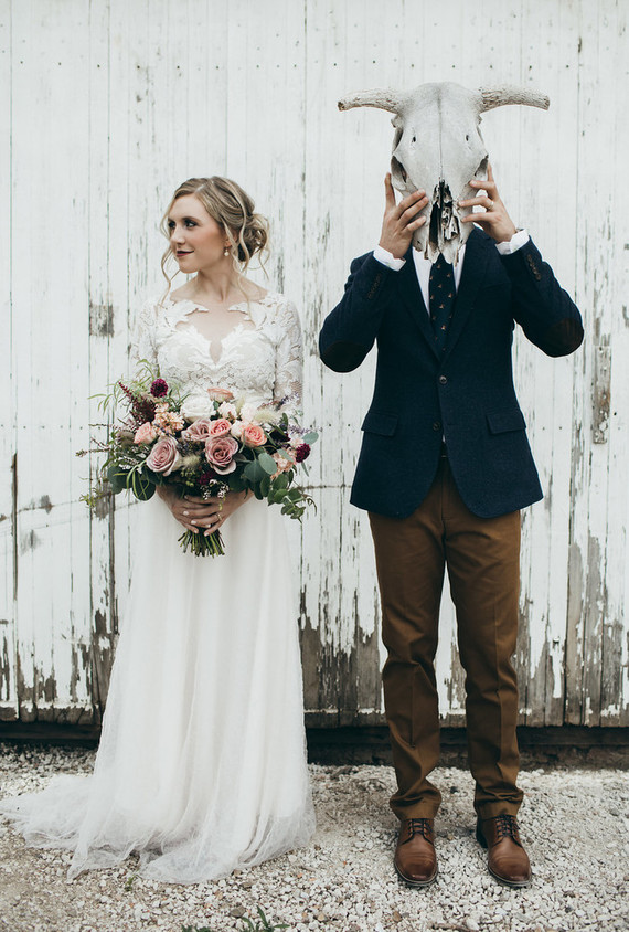 Rustic moody farm wedding inspiration in Boulder, Colorado