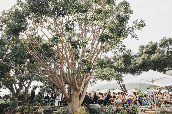 Intimate, elegant backyard wedding in Santa Barbara