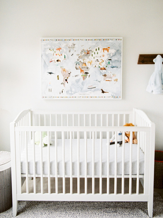 Modern Gender Neutral Nursery And Maternity Photos