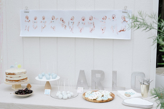 Arlo's sky-themed 1st birthday by Almost Makes Perfect