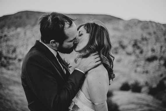 DIY desert wedding at Le Haute Desert Aerie in Pioneertown