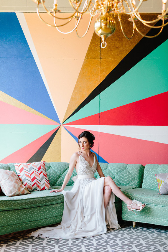 Colorful wedding at The Cheney Place in Grand Rapids, MI