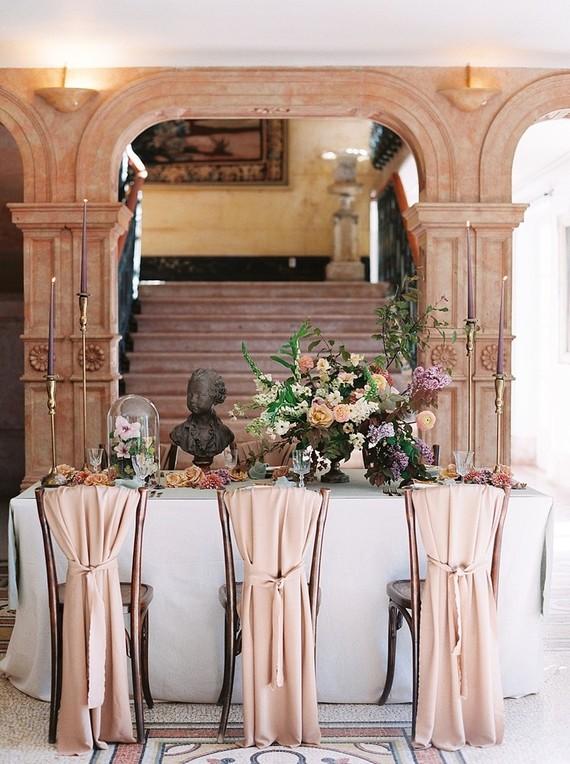 Moody romantic burgundy wedding ideas in France