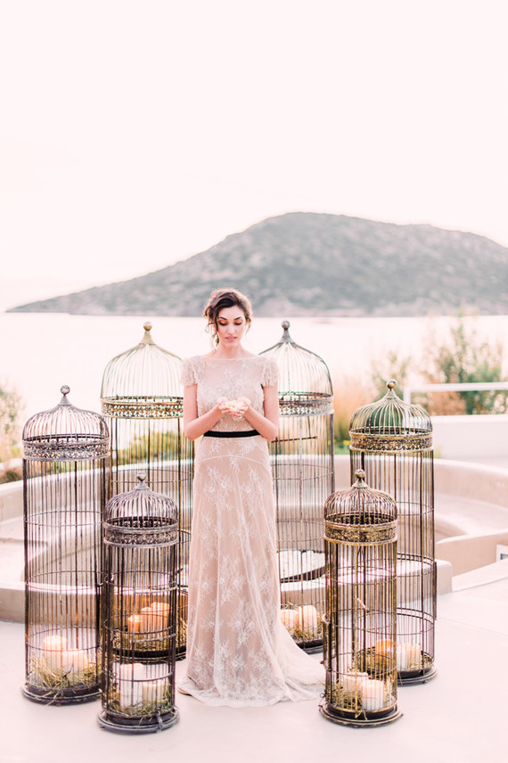 Birdcage wedding ideas
