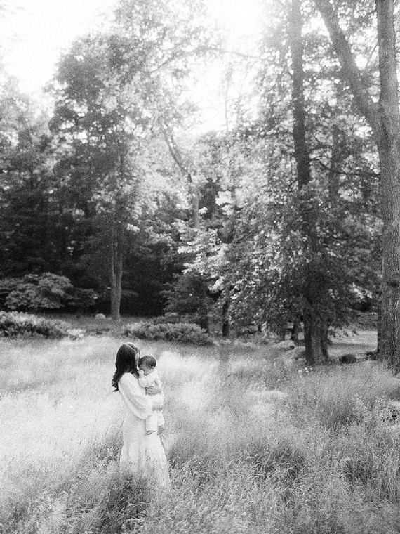 rustic summer upstate New York family photos on film by Jen Huang