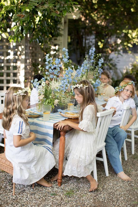 A midsummer garden party + YEAH rentals kids launch!