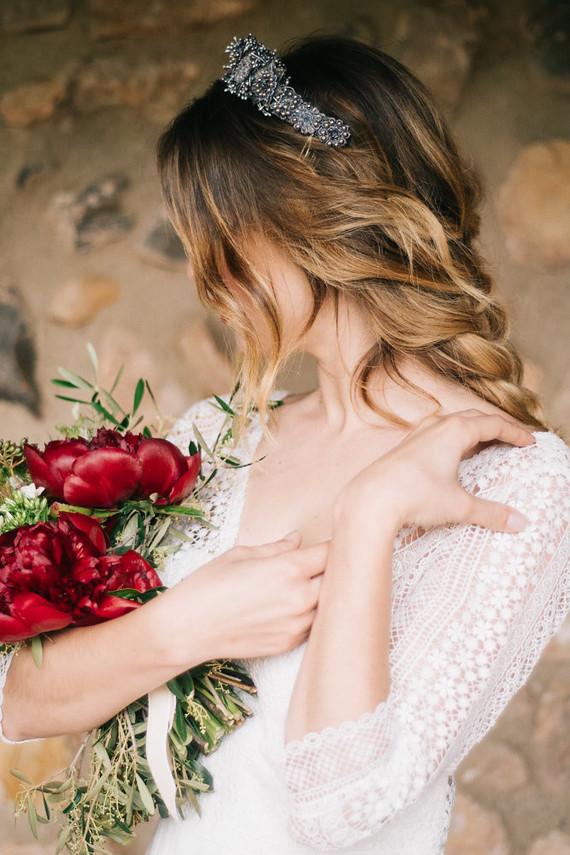 Elegant spanish wedding ideas at Castell de Riudabella in Spain