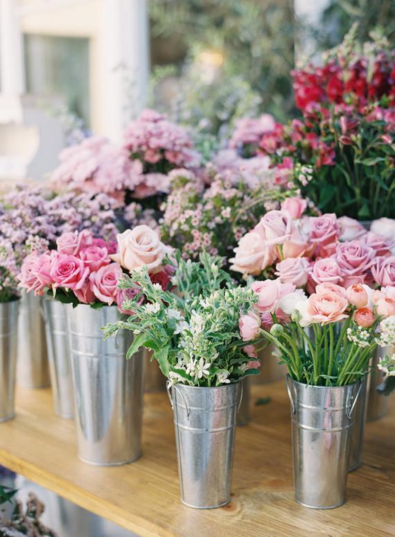 Flower market 1st birthday party