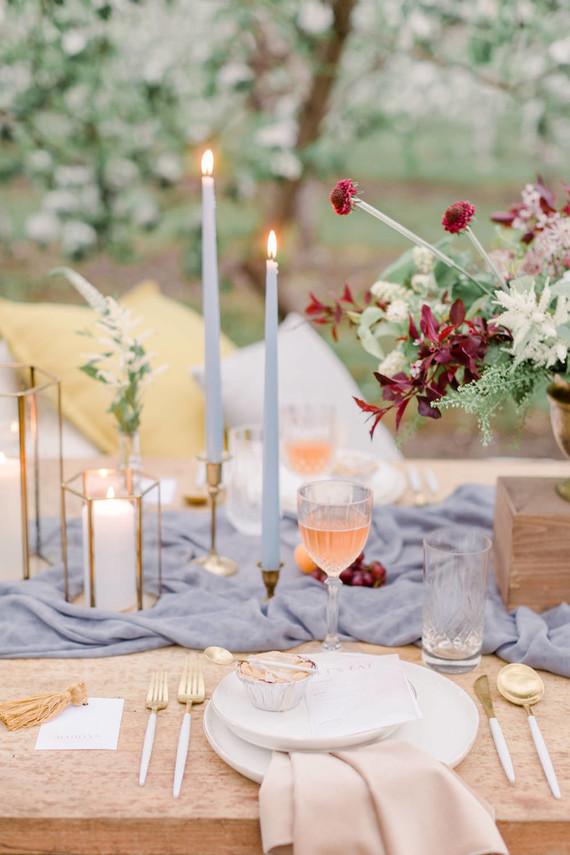 Apple orchard wedding inspiration in Mont Saint Hilaire, Quebec