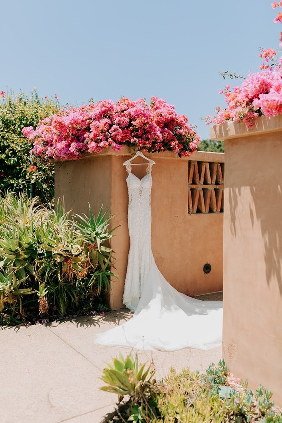 Sophisticated wedding at Rancho Valencia in San Diego