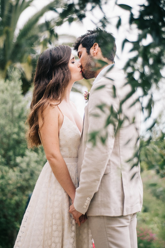 Late summer European elopement and dinner party in the Spanish Basque Country