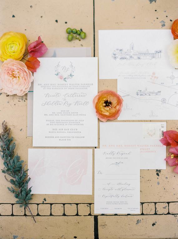 Elegent wedding invitations