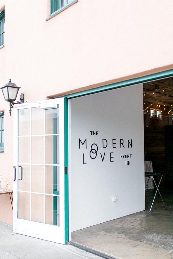Modern Love event