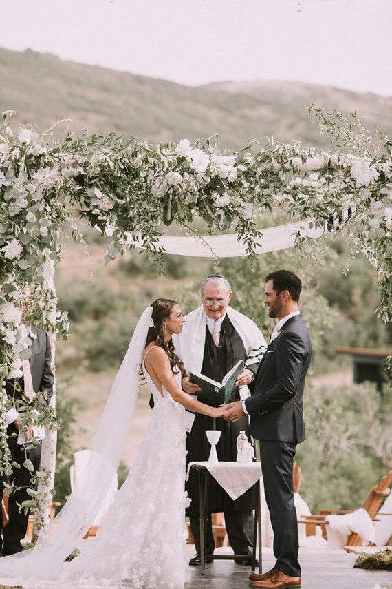 Utah outdoor ceremony