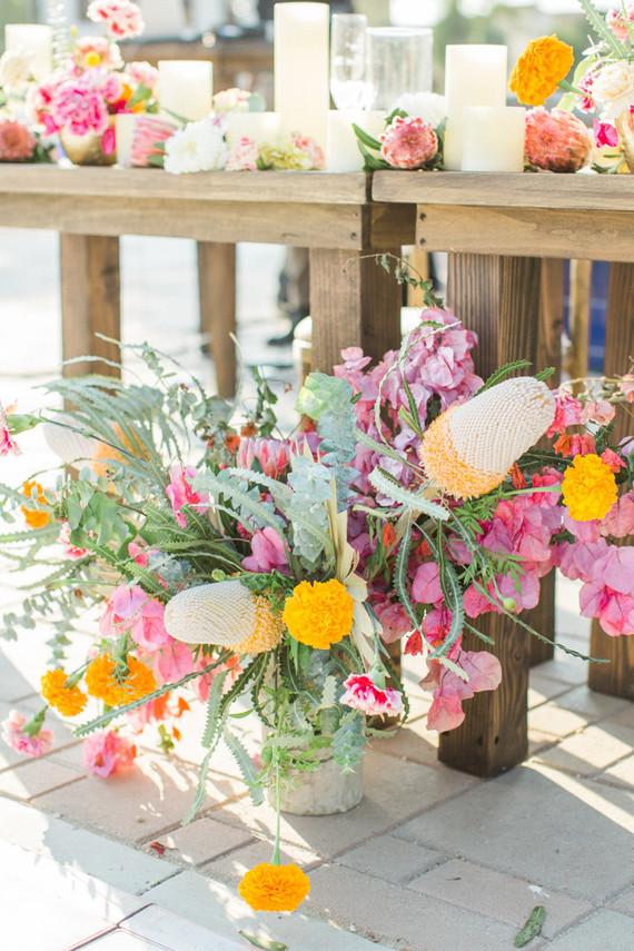 Spanish floral fiesta in Ventura, CA