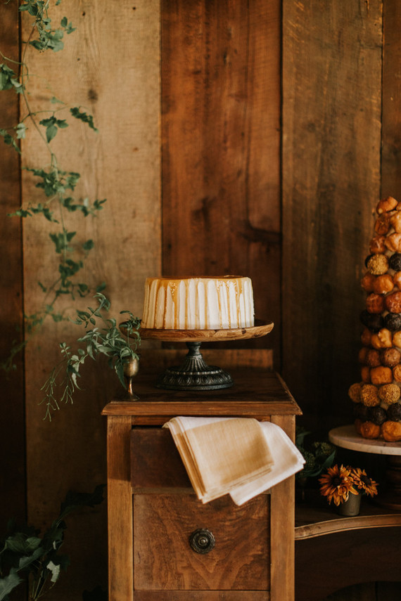 Fall dessert table