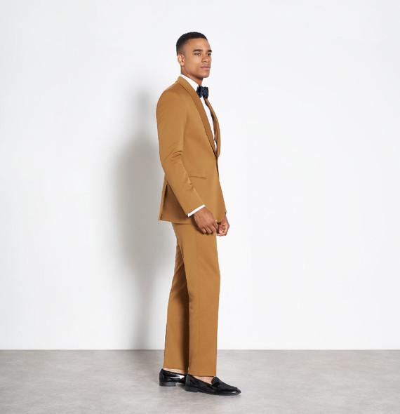Mustard mens suit