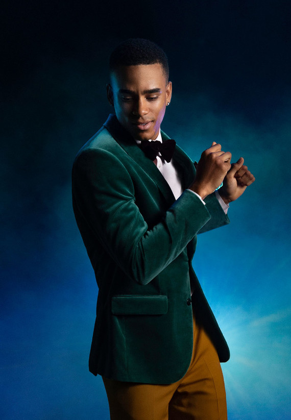Holiday mens fashion with The Black Tux