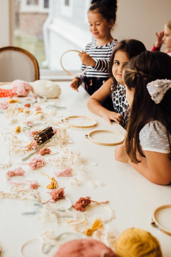 Modern prairie girl birthday party