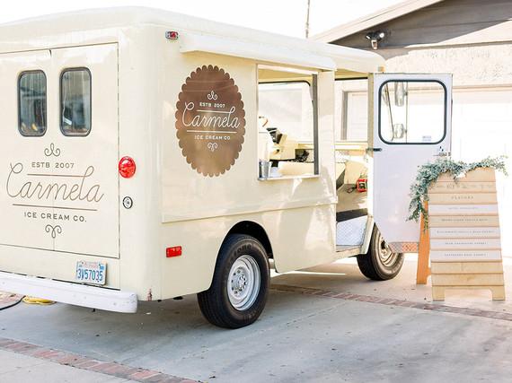 1st birthday party Carmella ice cream truck