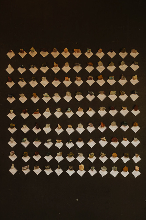 crystal escort cards