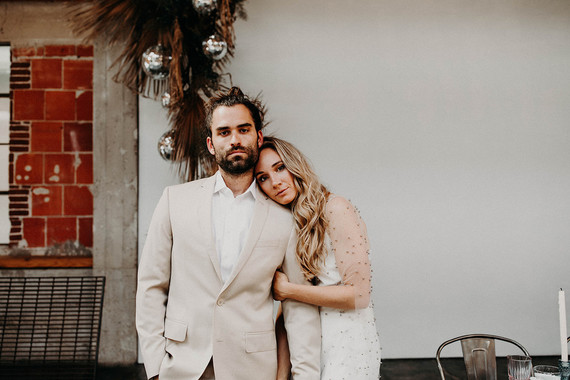 Indie boho city wedding at The Sandbox in San Diego