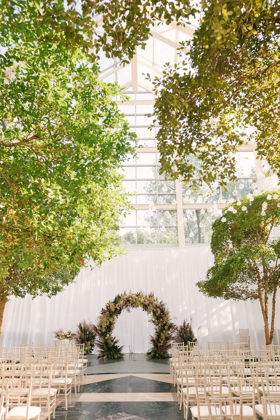 Ultra elegant, festive wedding at The Wintergarden in Rochester, NY