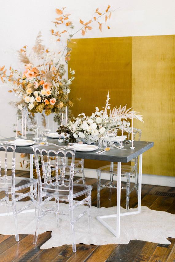 Modern vintage wedding ideas