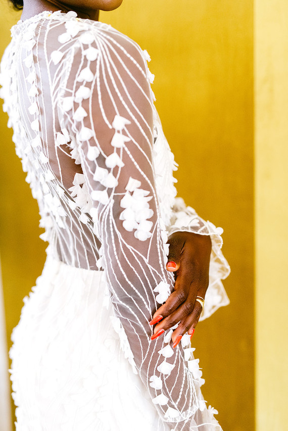 Modern bridal fashion