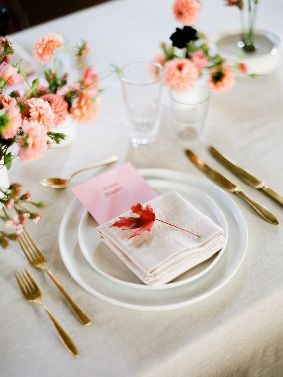 Fall dinner party in NYC with The Wedding Artists Collective