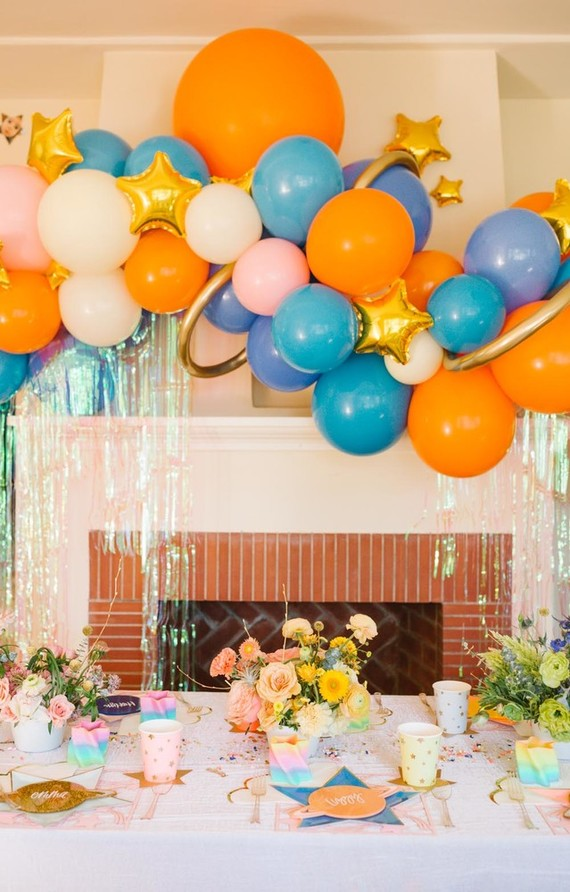 Toy Story And Space Themed Girls Second Birthday Party