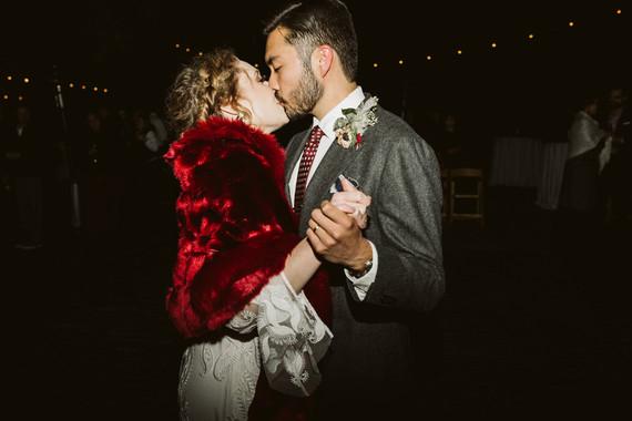 Rustic boho Kansas City barn wedding