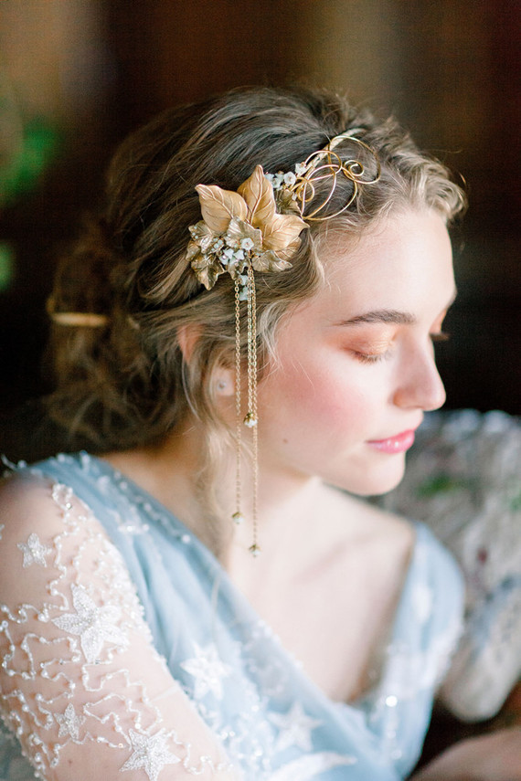 Ornate romantic British wedding editorial inspired by The Legend of Briar Rose